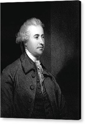 Edmund Burke Canvas Print by Collection Abecasis