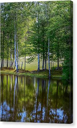 Edson Hill Reflections Canvas Print