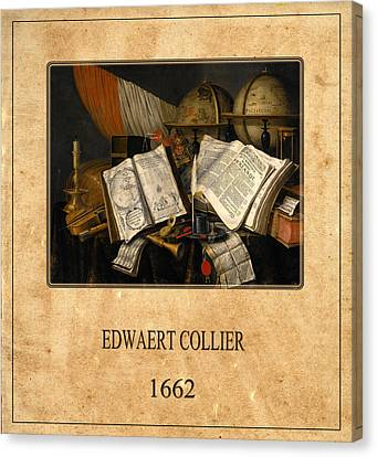 Edwaert Collier 1 Canvas Print by Andrew Fare