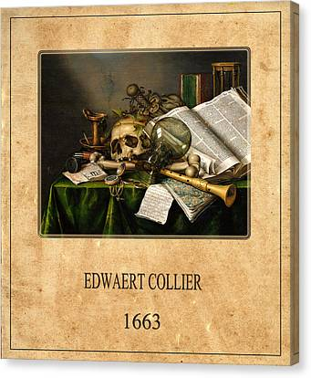 Edwaert Collier 2 Canvas Print by Andrew Fare