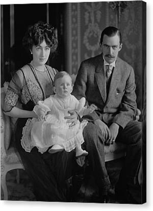 Edward And Evalyn Walsh Mclean Canvas Print by Everett