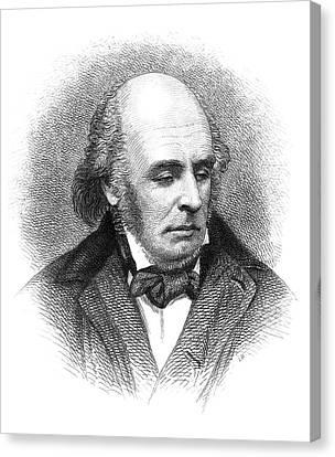 Edward Fitzgerald (1809-1883) Canvas Print by Granger