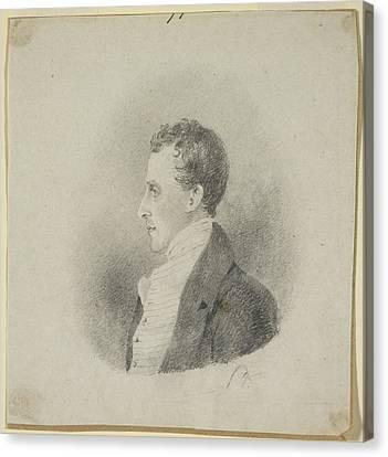 Colonial Man Canvas Print - Edward Gardner by British Library