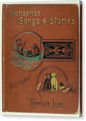 Edward Lear's Nonsense Songs And Stories Canvas Print by British Library