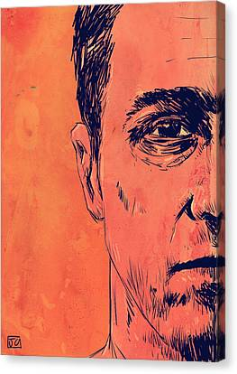 Icon Canvas Print - Edward Norton Fight Club by Giuseppe Cristiano