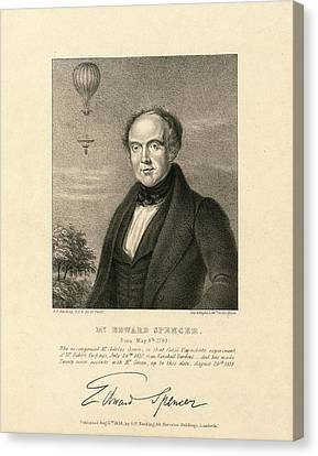 Edward Spencer Canvas Print by Library Of Congress