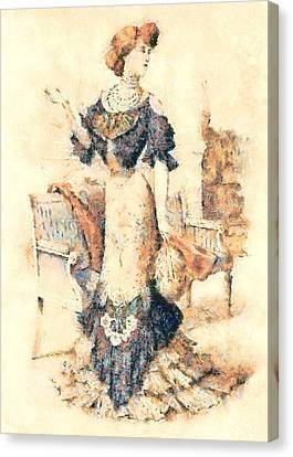 Edwardian Elegance Canvas Print