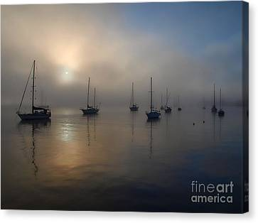 Eerie Sunrise Canvas Print