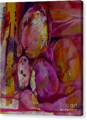 Egg 1 Canvas Print by Donna Acheson-Juillet