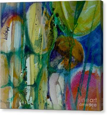 Egg 2 Canvas Print by Donna Acheson-Juillet