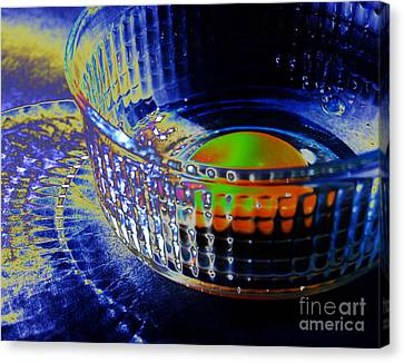 Eggadelic Canvas Print by Jim Rossol