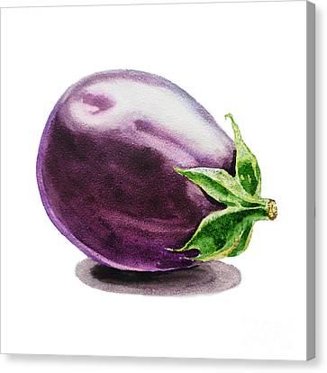 Eggplant  Canvas Print by Irina Sztukowski