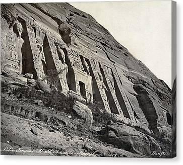 Egypt Abu Simbel Temple Canvas Print