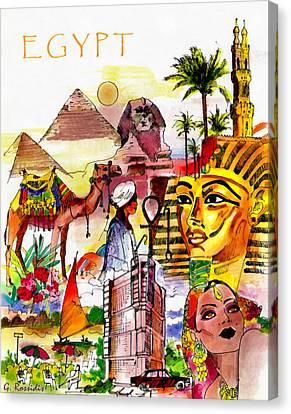 Egypt Canvas Print by George Rossidis