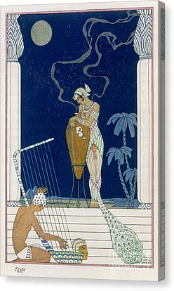Egypt Canvas Print by Georges Barbier