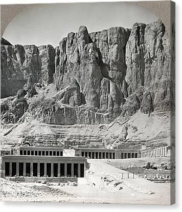 Egypt Hatshepsut Temple Canvas Print by Granger