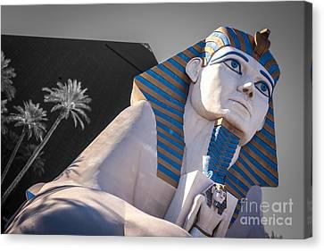 Egypt Or Usa  Canvas Print