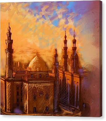 Egyptian Mosque Canvas Print