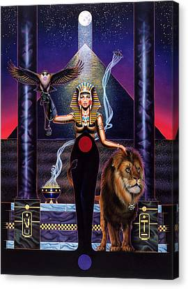 Egyptian Queen Canvas Print by Tim  Scoggins