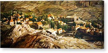 Ehden Lebanon Canvas Print by Lyndsey Hatchwell