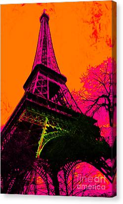 Eiffel 20130115v1 Canvas Print by Wingsdomain Art and Photography