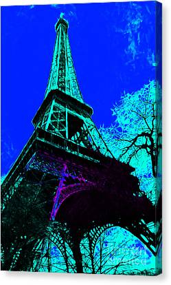 Eiffel 20130115v4 Canvas Print by Wingsdomain Art and Photography