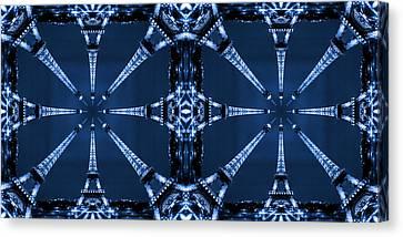 Eiffel Art 32a Canvas Print by Mike McGlothlen