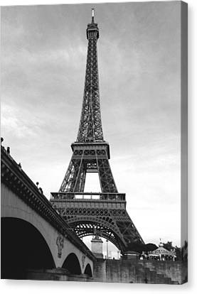 Eiffel Classic Canvas Print by Kathy Corday