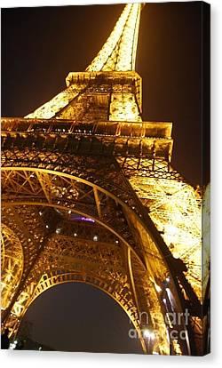 Eiffel Knew How To Build Them Canvas Print by Alexandra Jordankova