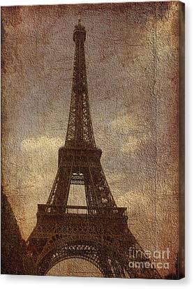 Eiffel Canvas Print by Soumya Bouchachi