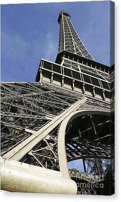 Canvas Print featuring the photograph Eiffel Tower by Belinda Greb