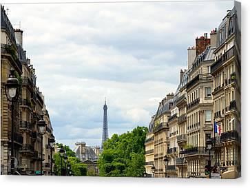 Eifel Canvas Print - Eiffel Tower by Corinne Rhode