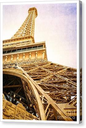 Eiffel Tower Canvas Print by Edward Fielding