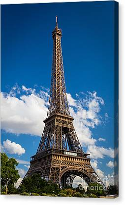 Eiffel Tower Canvas Print by Inge Johnsson