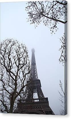 Eiffel Tower - Paris France - 011318 Canvas Print by DC Photographer