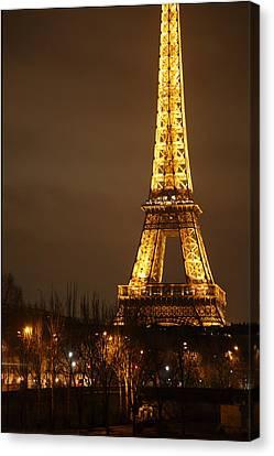 Eiffel Tower - Paris France - 011320 Canvas Print by DC Photographer