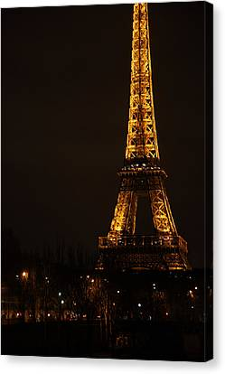 Eiffel Tower - Paris France - 011321 Canvas Print by DC Photographer
