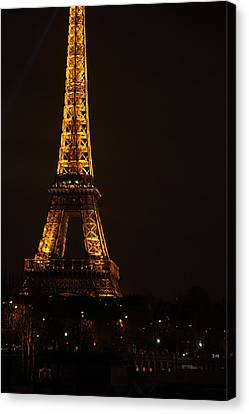 Eiffel Tower - Paris France - 011323 Canvas Print by DC Photographer