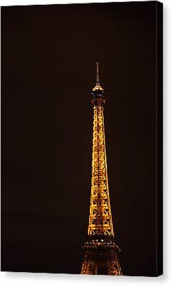 Eiffel Tower - Paris France - 011327 Canvas Print by DC Photographer