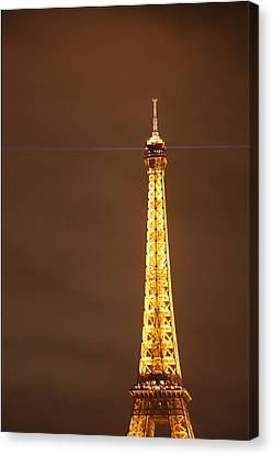 Iron Canvas Print - Eiffel Tower - Paris France - 011328 by DC Photographer