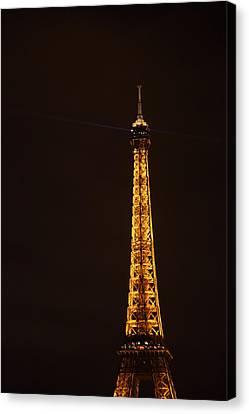 Eiffel Tower - Paris France - 011329 Canvas Print by DC Photographer