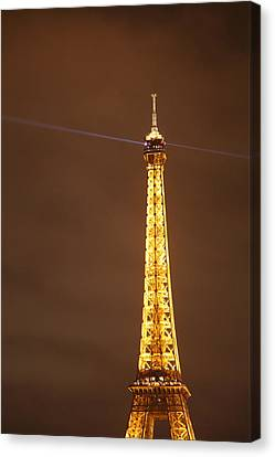 Eiffel Tower - Paris France - 011330 Canvas Print by DC Photographer