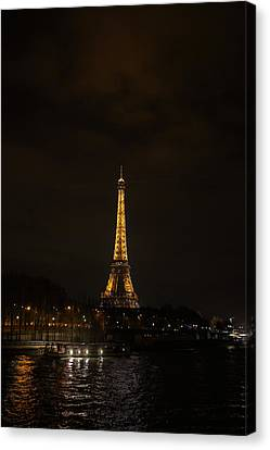Eiffel Tower - Paris France - 011338 Canvas Print by DC Photographer