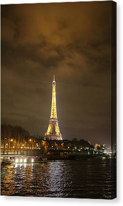 Eiffel Tower - Paris France - 011343 Canvas Print