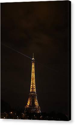 Iron Canvas Print - Eiffel Tower - Paris France - 011344 by DC Photographer