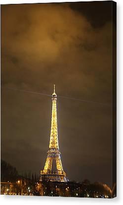 Metropolis Canvas Print - Eiffel Tower - Paris France - 011355 by DC Photographer