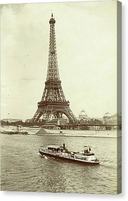 Eiffel Tower, Paris, France, X Canvas Print