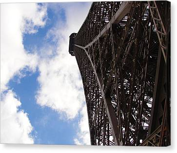 Canvas Print featuring the photograph Eiffel Tower by Tiffany Erdman