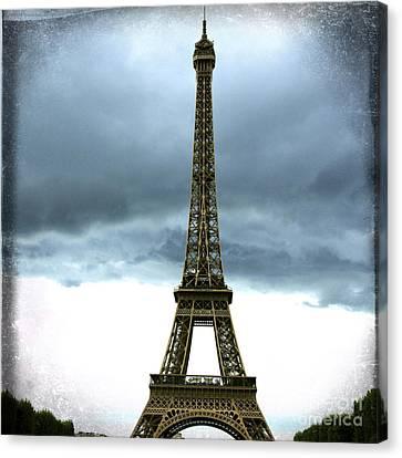 Eiffel Tower. Tour Eiffel. Paris Canvas Print by Bernard Jaubert