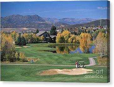 Eighth Hole Canvas Print by Chris Selby